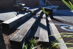 Rustic Hardwood Timber Railway Sleepers Christchurch